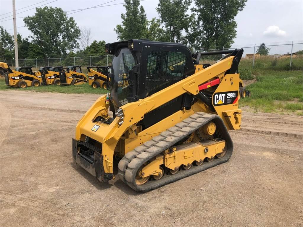 Caterpillar 299 D 2 XHP, Skid Steer Loaders, Construction