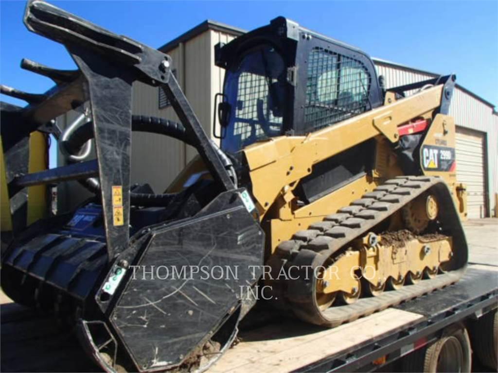 Caterpillar 299 D 2 XHP、スキッドステアローダー、建設