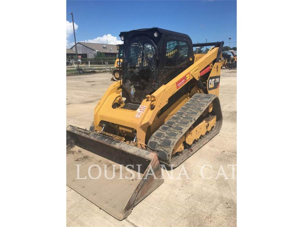 Caterpillar 299D, Carregadoras de direcção deslizante, Equipamentos Construção