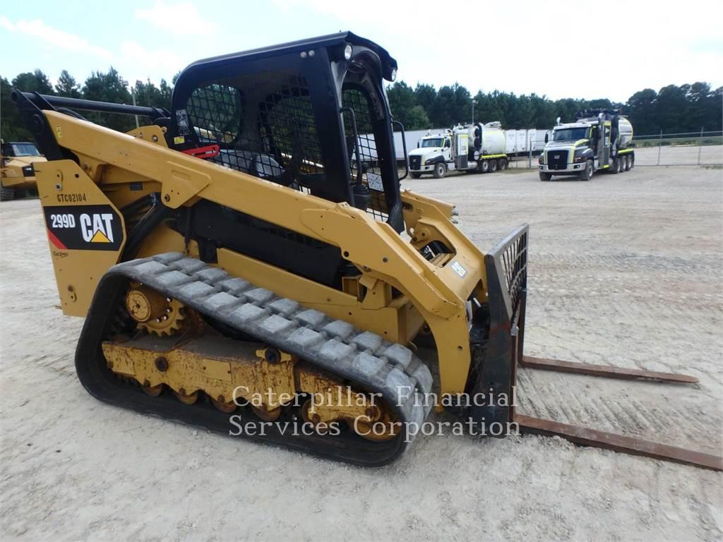 Caterpillar 299D, Mini ładowarki, Sprzęt budowlany