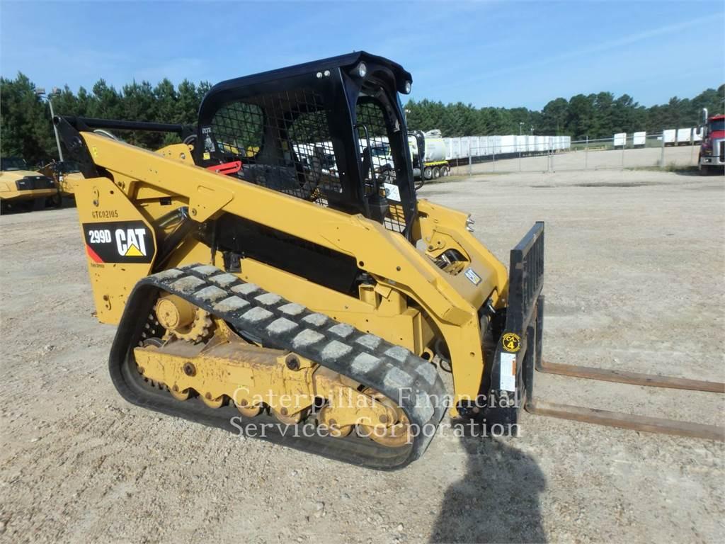 Caterpillar 299D, Minicargadoras, Construcción