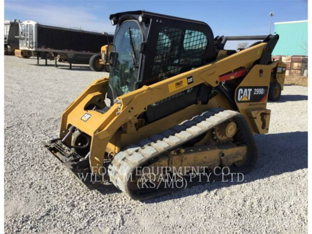 Caterpillar 299D, Skid Steer Loaders, Construction