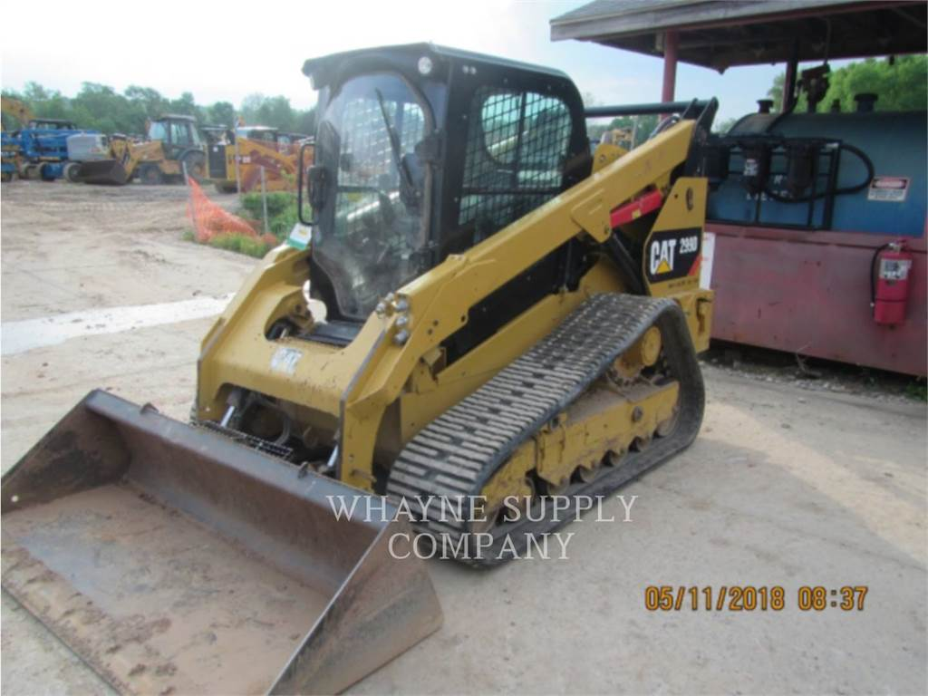 Caterpillar 299D, Mini incarcator, Constructii