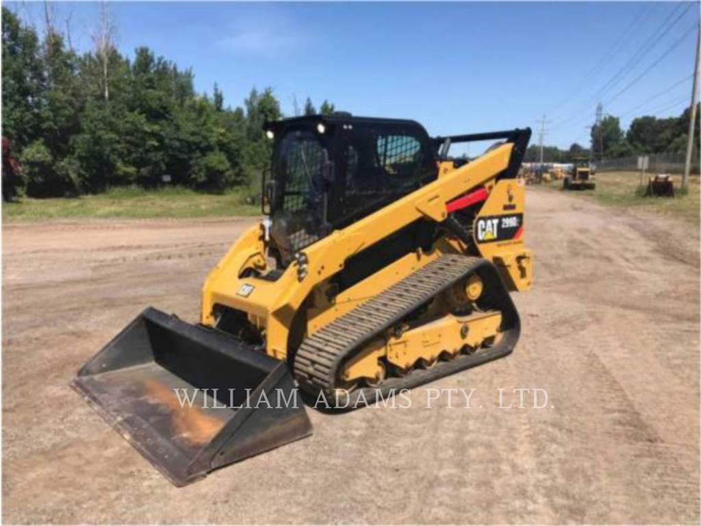 Caterpillar 299D, Crawler Excavators, Construction