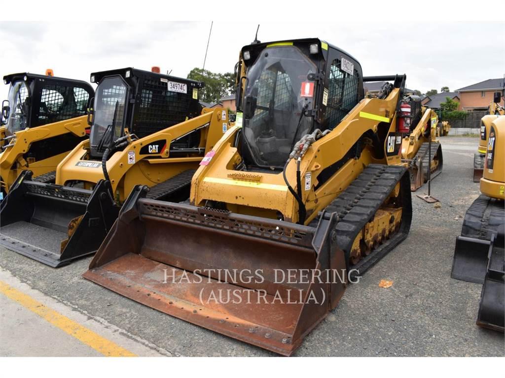 Caterpillar 299D, Мини-погрузчики, Строительное