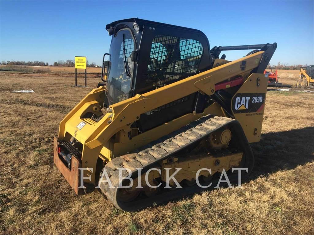 Caterpillar 299D, Kompaktlader, Bau-Und Bergbauausrüstung