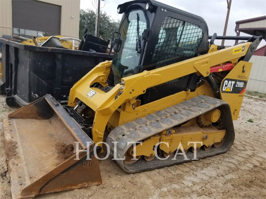 Caterpillar 299D CAB, Skid Steer Loaders, Construction