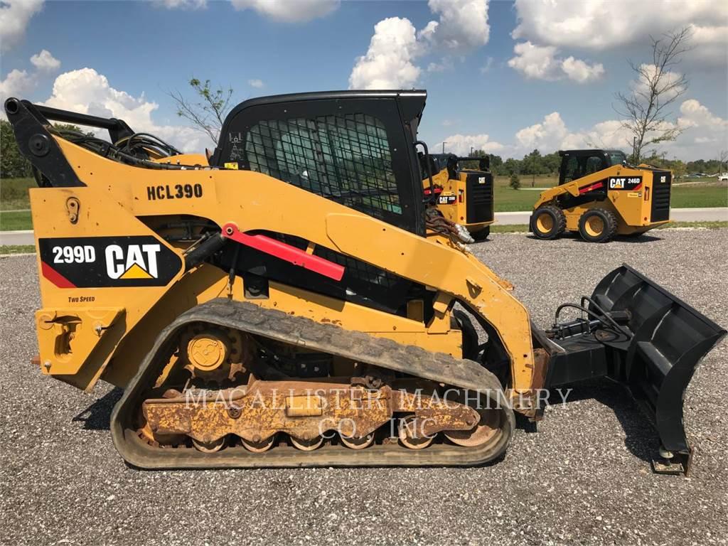 Caterpillar 299D, Mini incarcator, Constructii