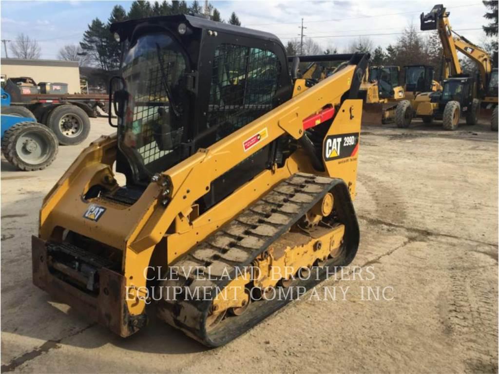 Caterpillar 299D HF, Minicargadoras, Construcción