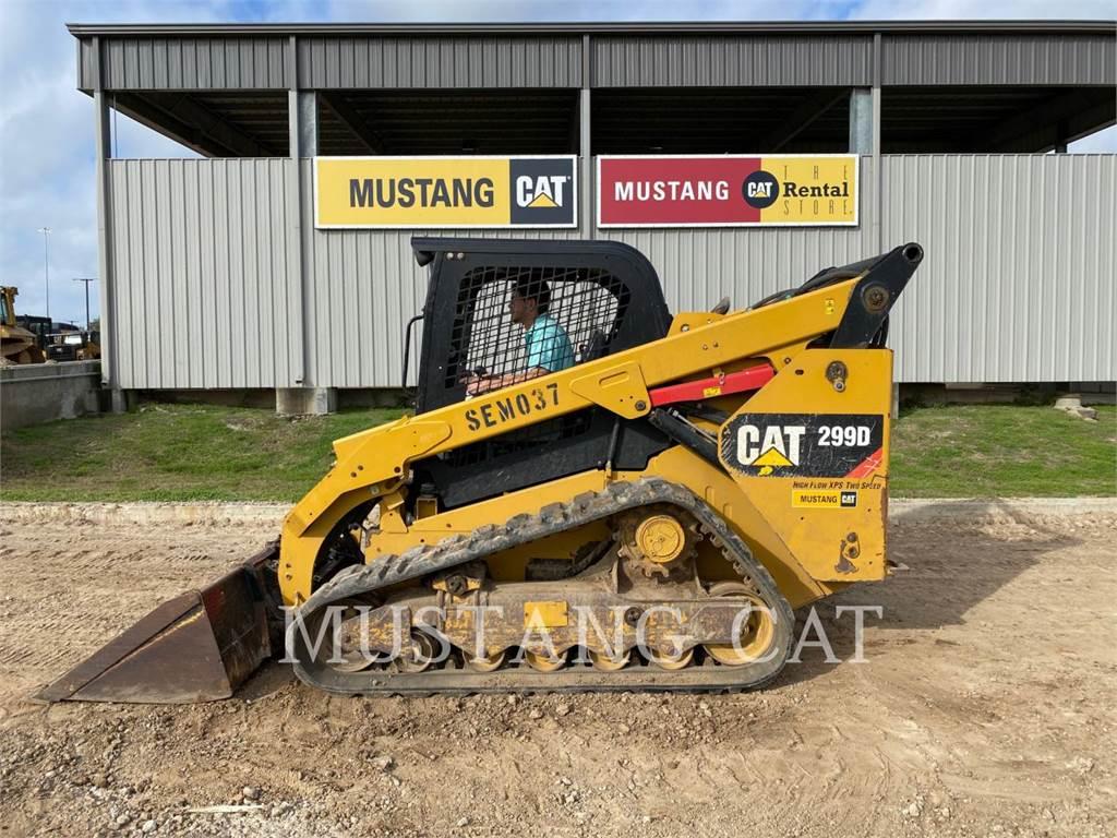 Caterpillar 299D OR HF, Chargeuse compacte, Équipement De Construction
