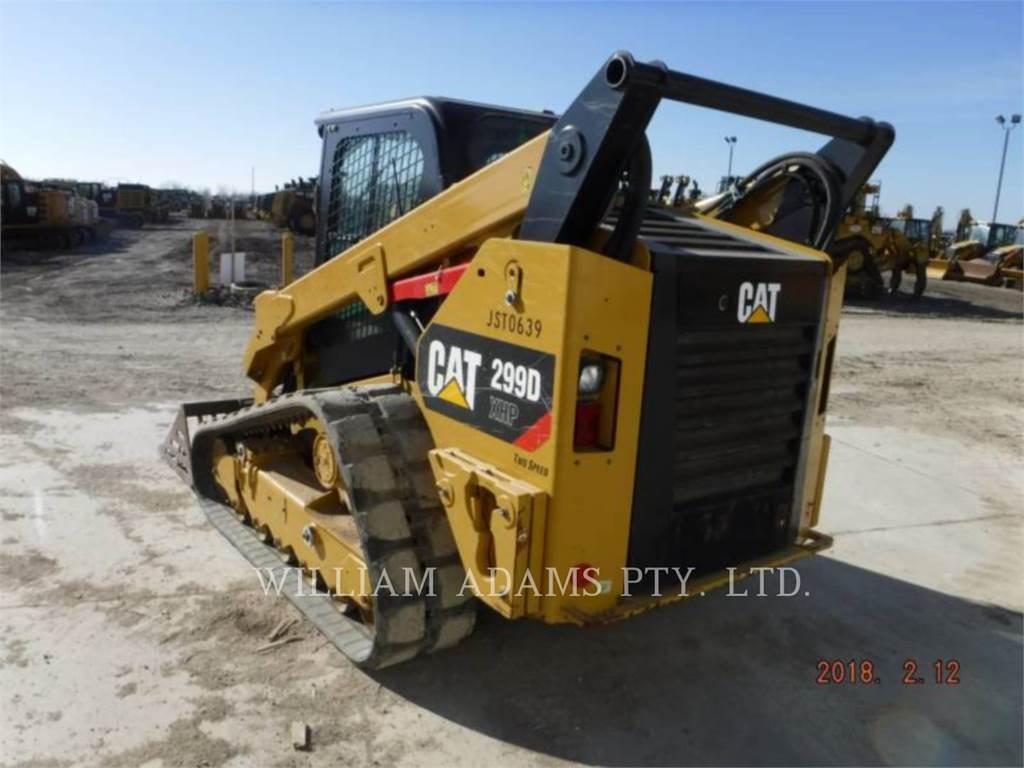 Caterpillar 299D XHP, Skid Steer Loaders, Construction