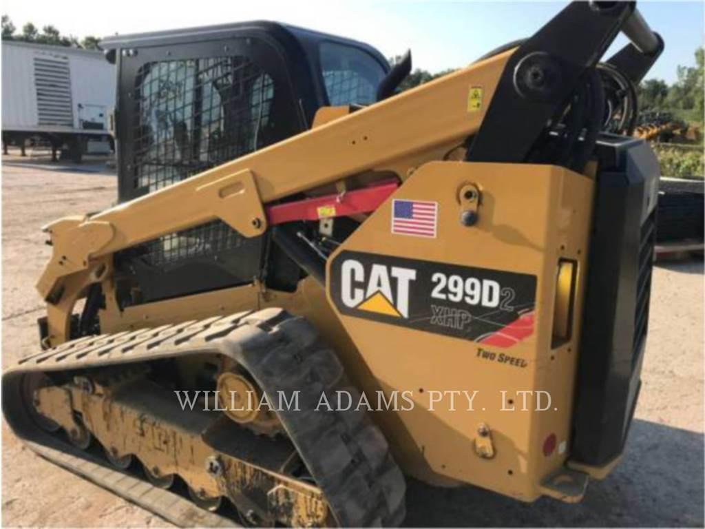 Caterpillar 299D XHP、滑移装载机、建筑设备