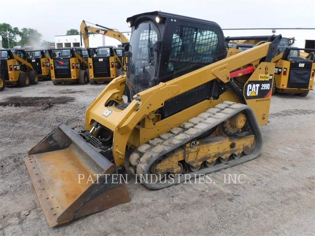 Caterpillar 299D1 AIHX, Skid Steer Loaders, Construction