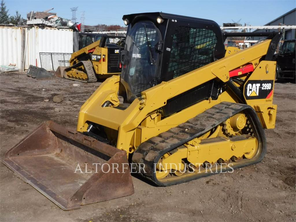 Caterpillar 299D1 AIRH, Skid Steer Loaders, Construction
