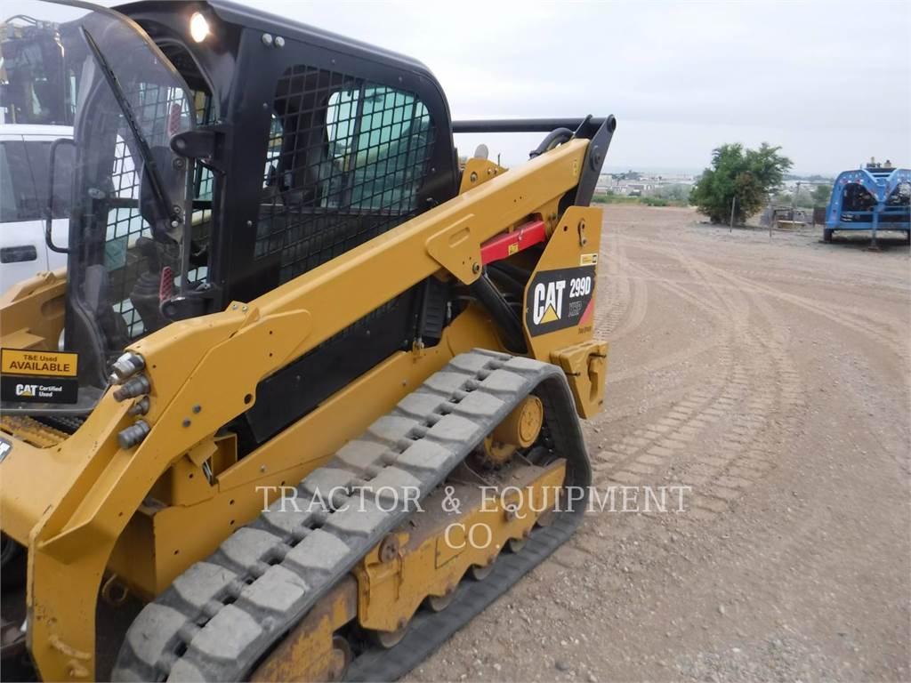 Caterpillar 299D1 XHP、滑移装载机、建筑设备