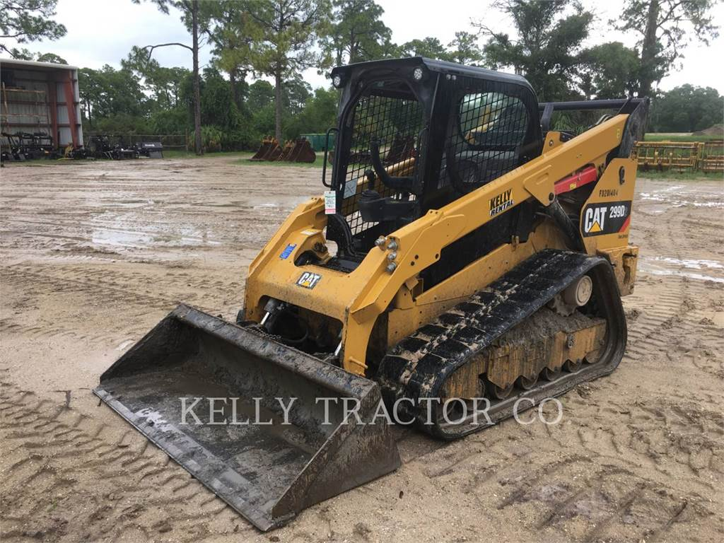 Caterpillar 299D2, Skid Steer Loaders, Construction