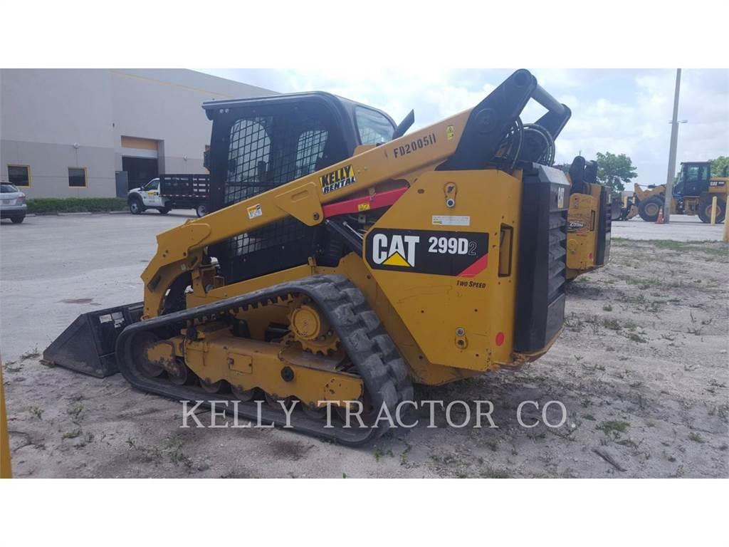 Caterpillar 299D2, Mini ładowarki, Sprzęt budowlany