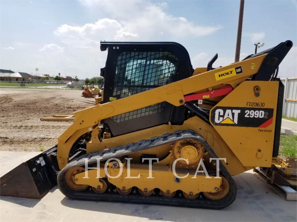 Caterpillar 299D2, Minicargadoras, Construcción