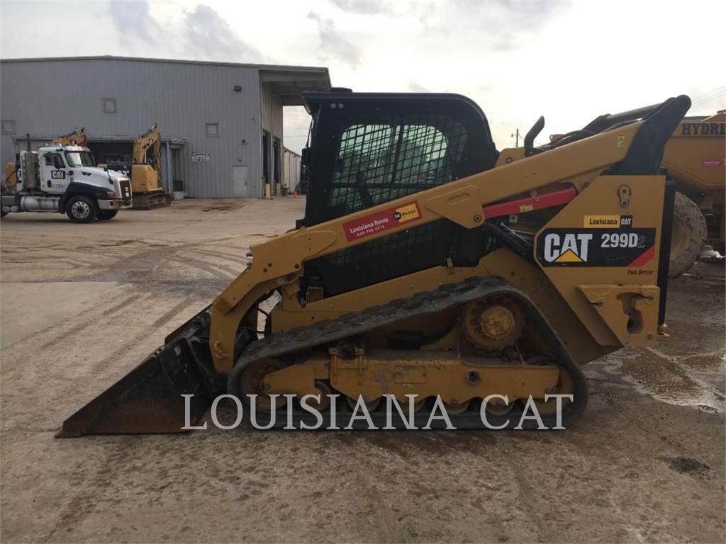 Caterpillar 299D2, Carregadoras de direcção deslizante, Equipamentos Construção