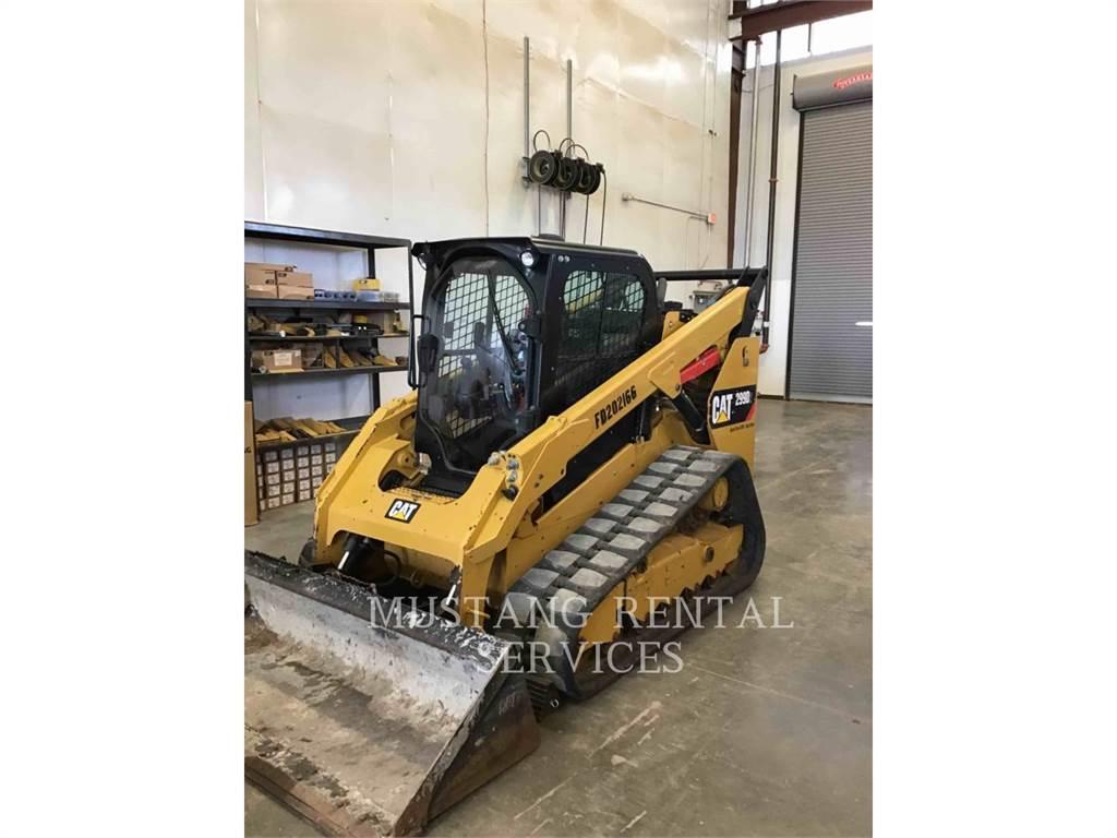 Caterpillar 299D2, track loaders, Construction