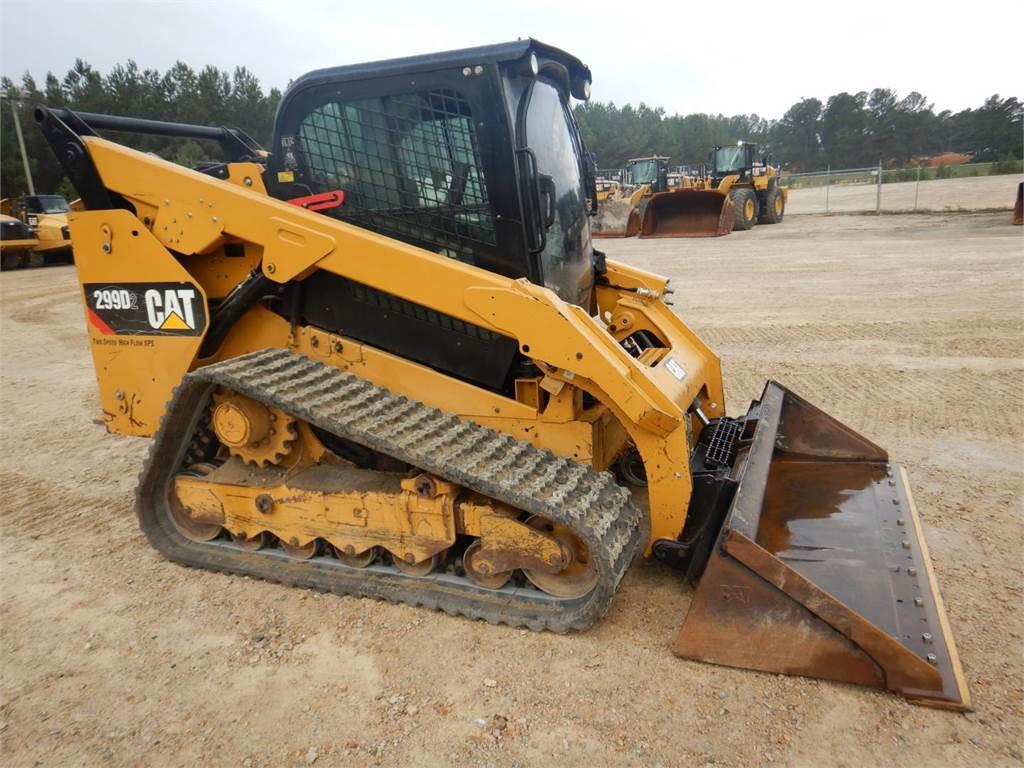 Caterpillar 299D2、滑移装载机、建筑设备