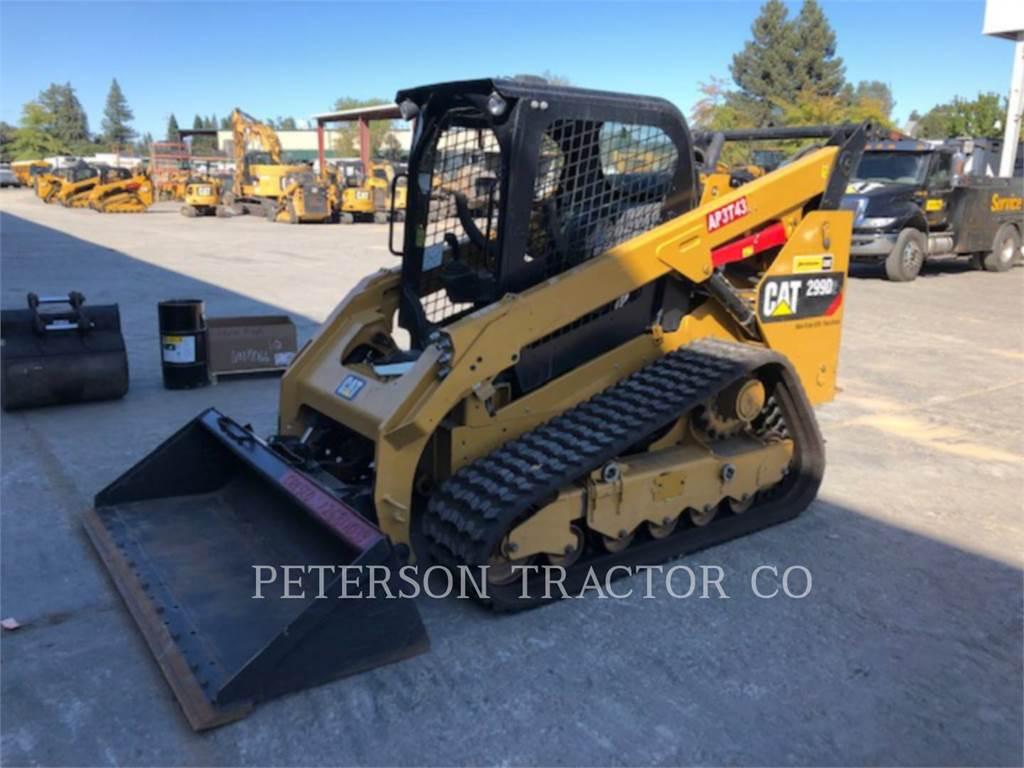 Caterpillar 299D2, Mini incarcator, Constructii