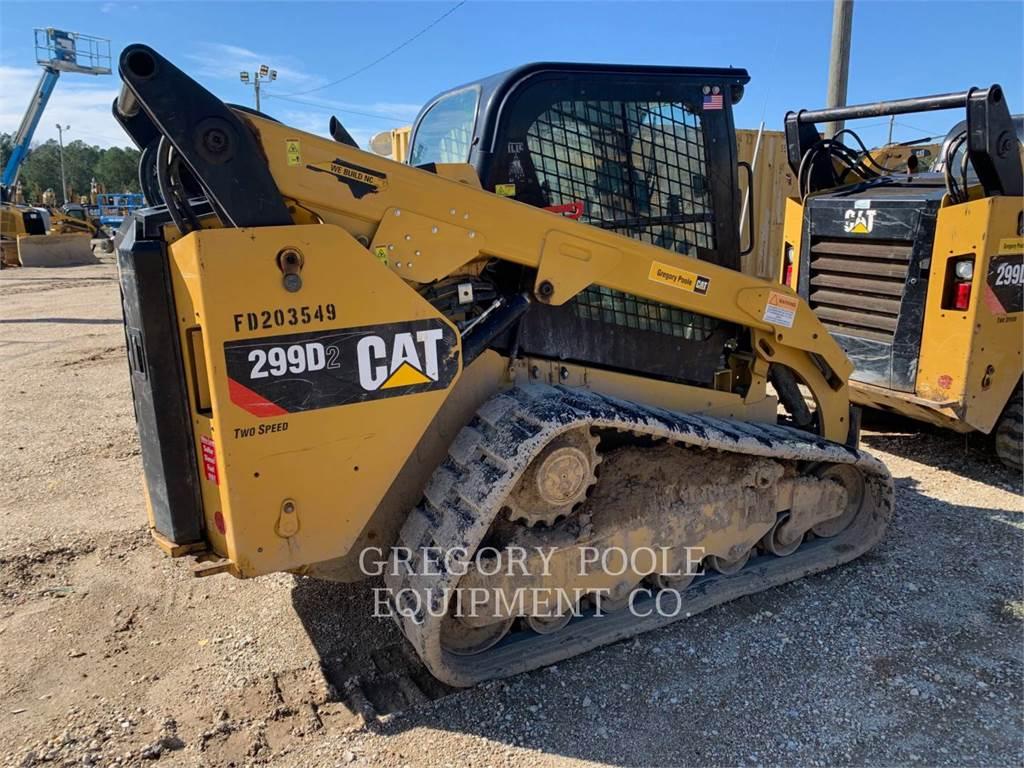 Caterpillar 299D2, cargadores de cadenas, Construcción