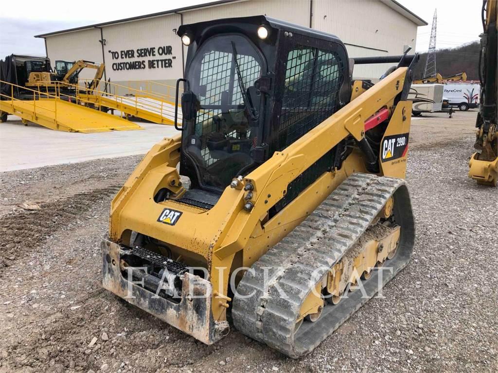 Caterpillar 299D2、スキッドステアローダー、建設