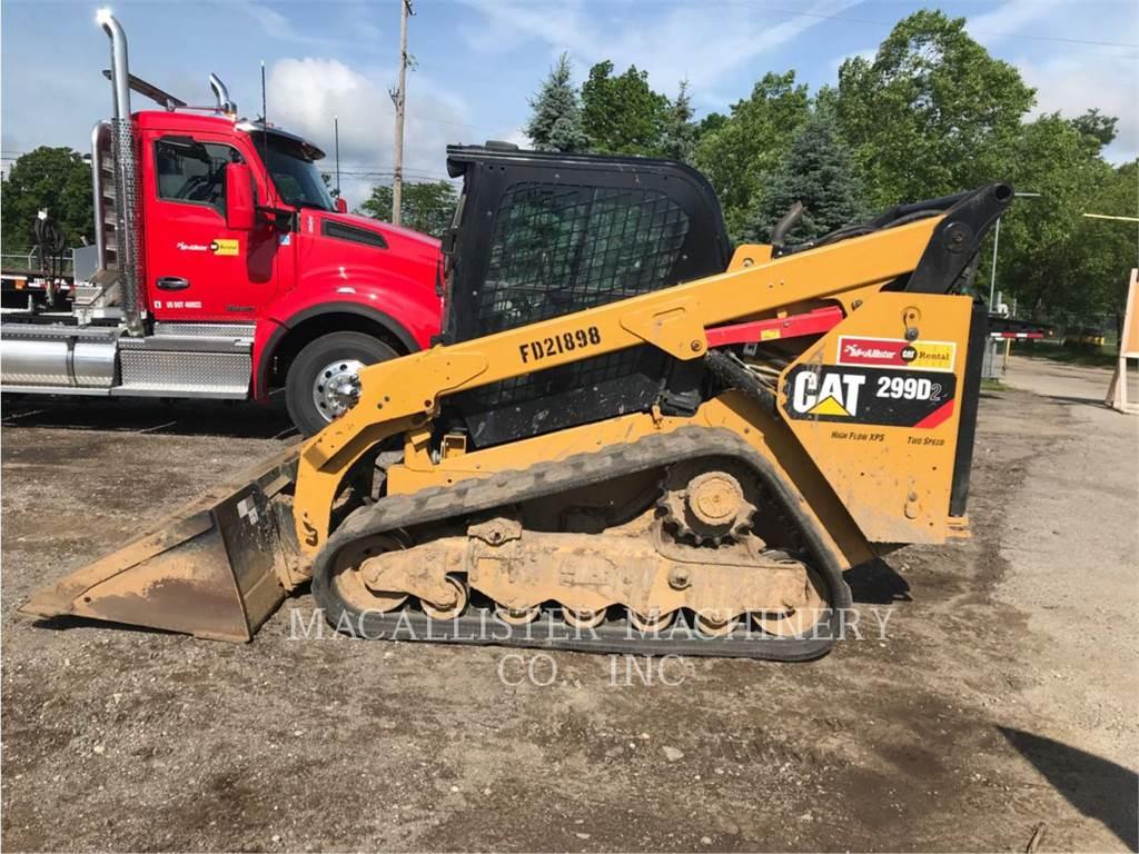 Caterpillar 299D2, Otros equipamientos de construcción, Construcción