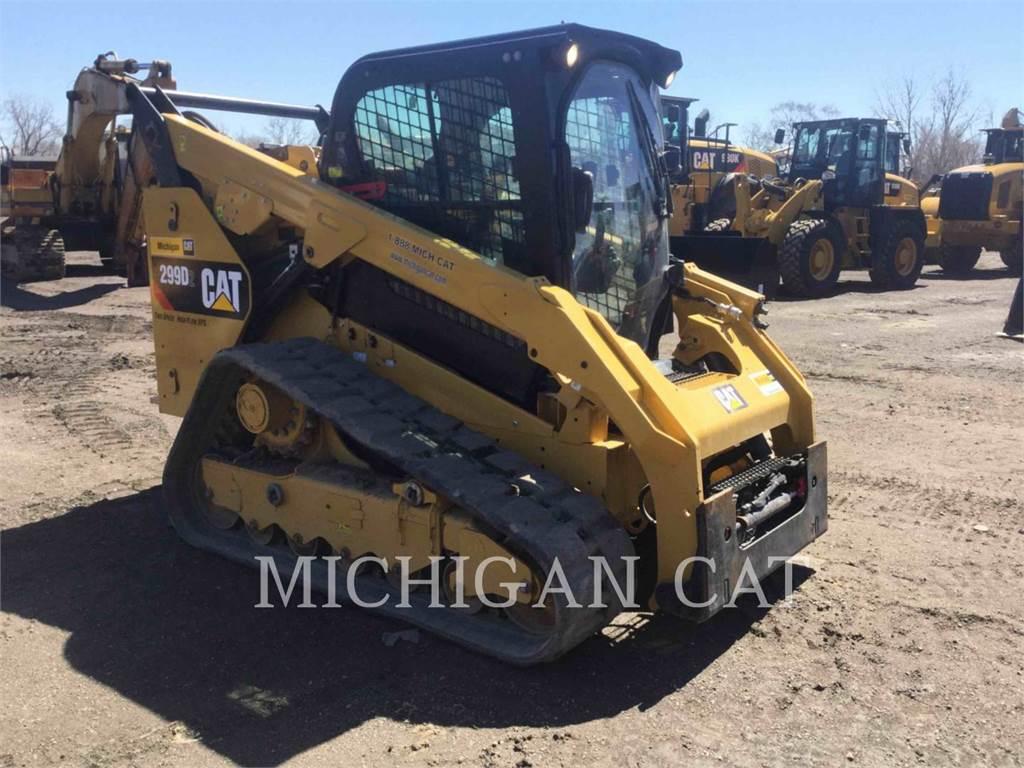 Caterpillar 299D2 AHQ, Minicargadoras, Construcción