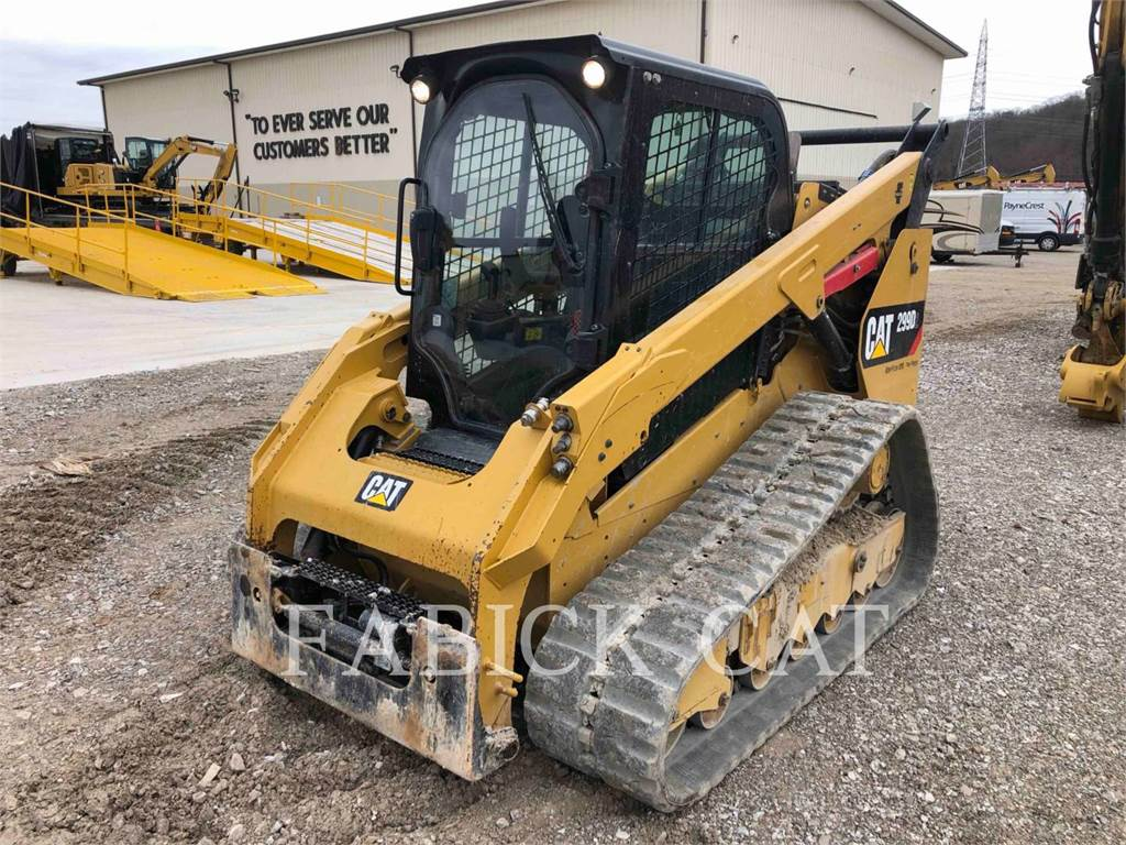 Caterpillar 299D2 C3H3, Skid Steer Loaders, Construction
