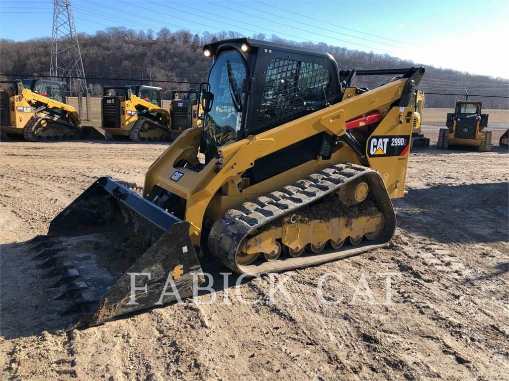 Caterpillar 299D2 OK, Kompaktlader, Bau-Und Bergbauausrüstung