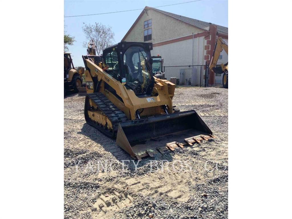 Caterpillar 299D2 XHP, Carregadoras de direcção deslizante, Equipamentos Construção