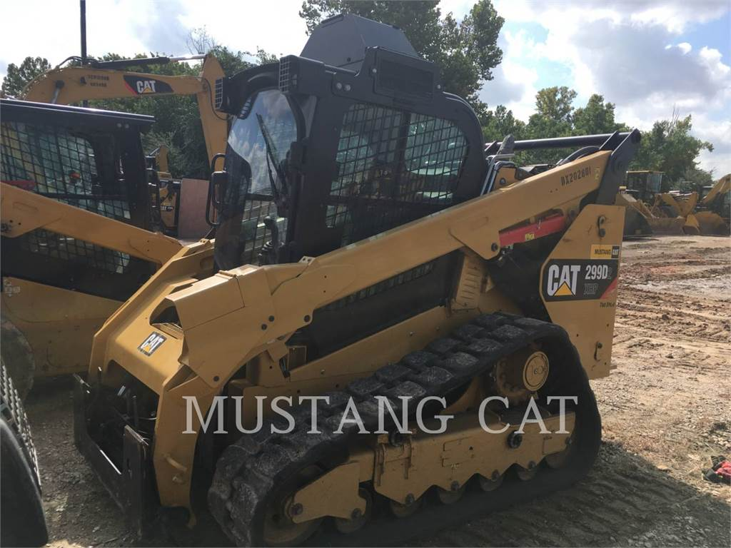 Caterpillar 299D2 XHP, Skid Steer Loaders, Construction