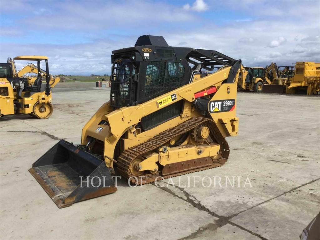 Caterpillar 299D2 XHP, Schrankladers, Bouw