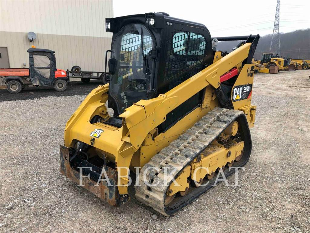 Caterpillar 299D2 XHP, Skid Steer Loaders, Construction