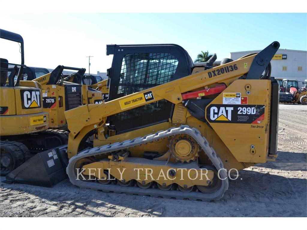 Caterpillar 299D2XHP, Mini incarcator, Constructii