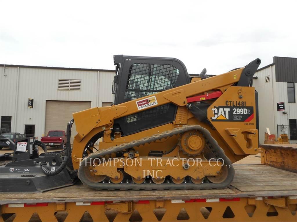 Caterpillar 299D2XHP、滑移装载机、建筑设备