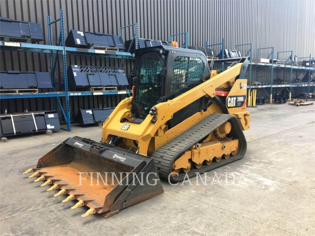Caterpillar 299D2XHP, carregadeira de esteiras, Equipamentos Construção