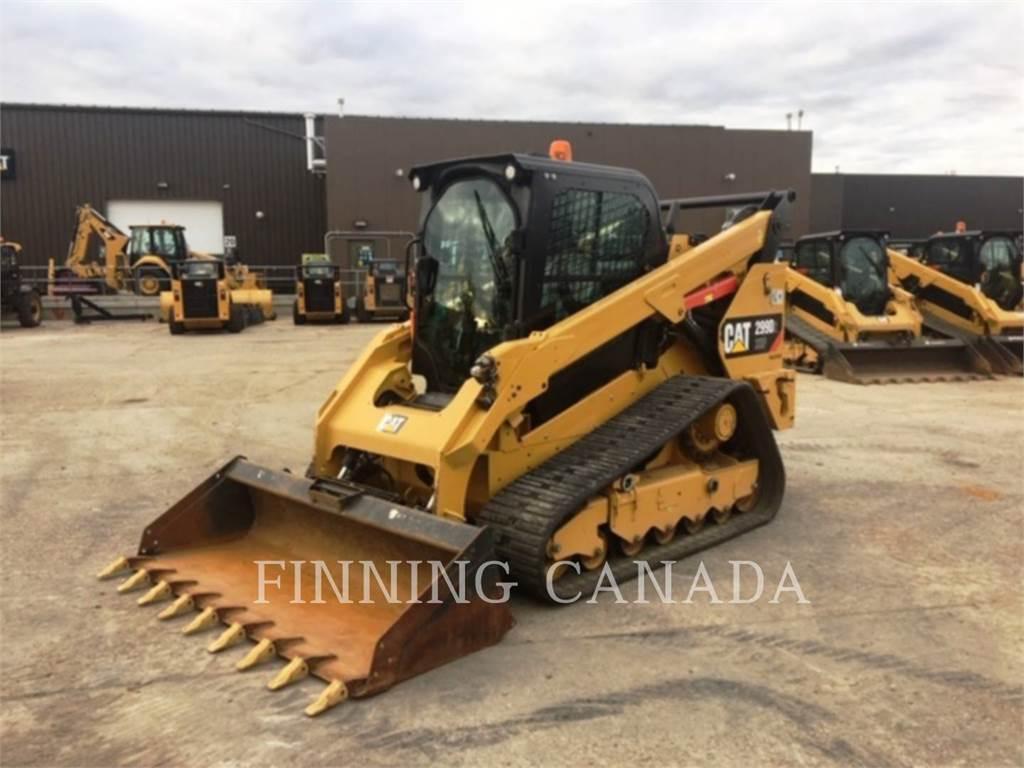 Caterpillar 299D2XHP、履带式装载机、建筑设备