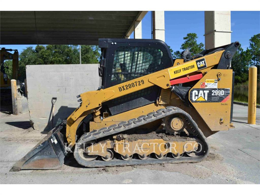 Caterpillar 299D2XHP, Mini incarcator, Constructii
