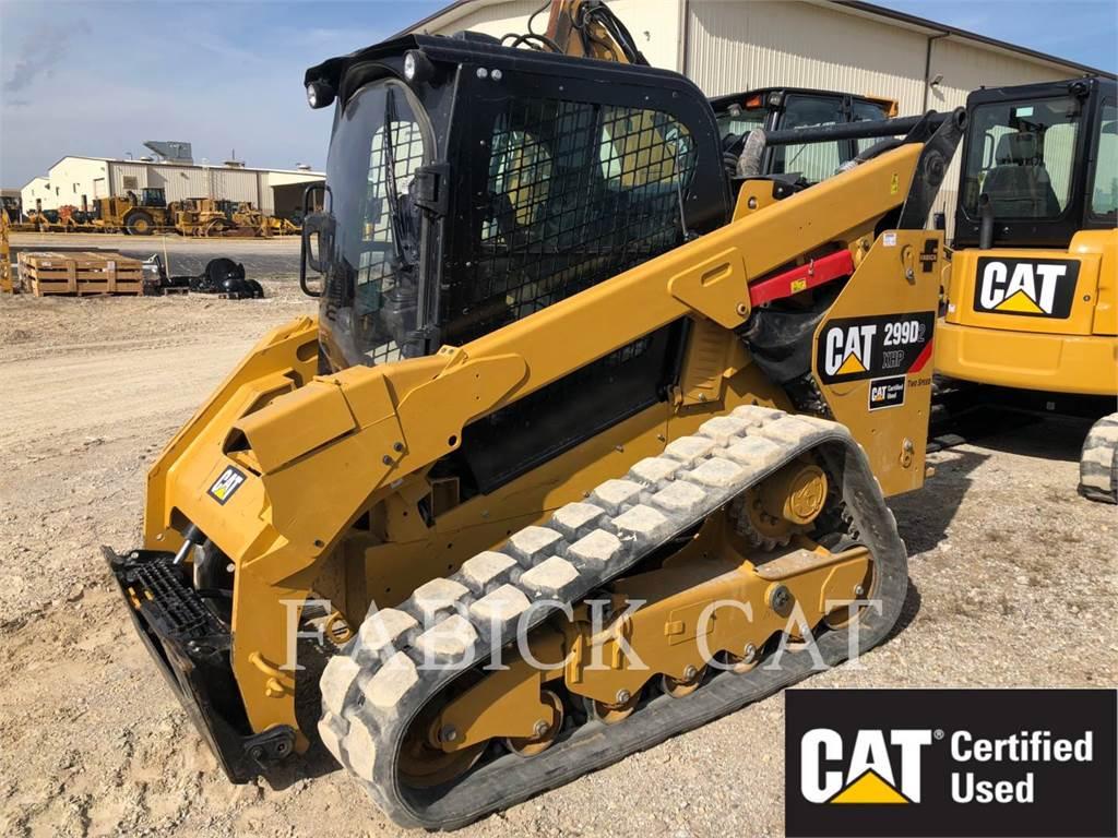 Caterpillar 299D2XHP, Carregadoras de direcção deslizante, Equipamentos Construção