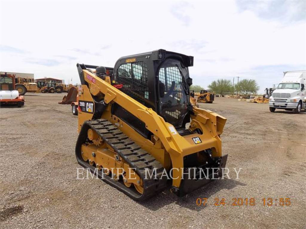 Caterpillar 299D2XHPCA, Skid Steer Loaders, Construction
