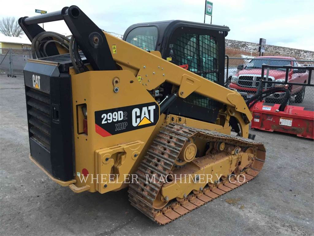 Caterpillar 299D2XHPST, Skid Steer Loaders, Construction