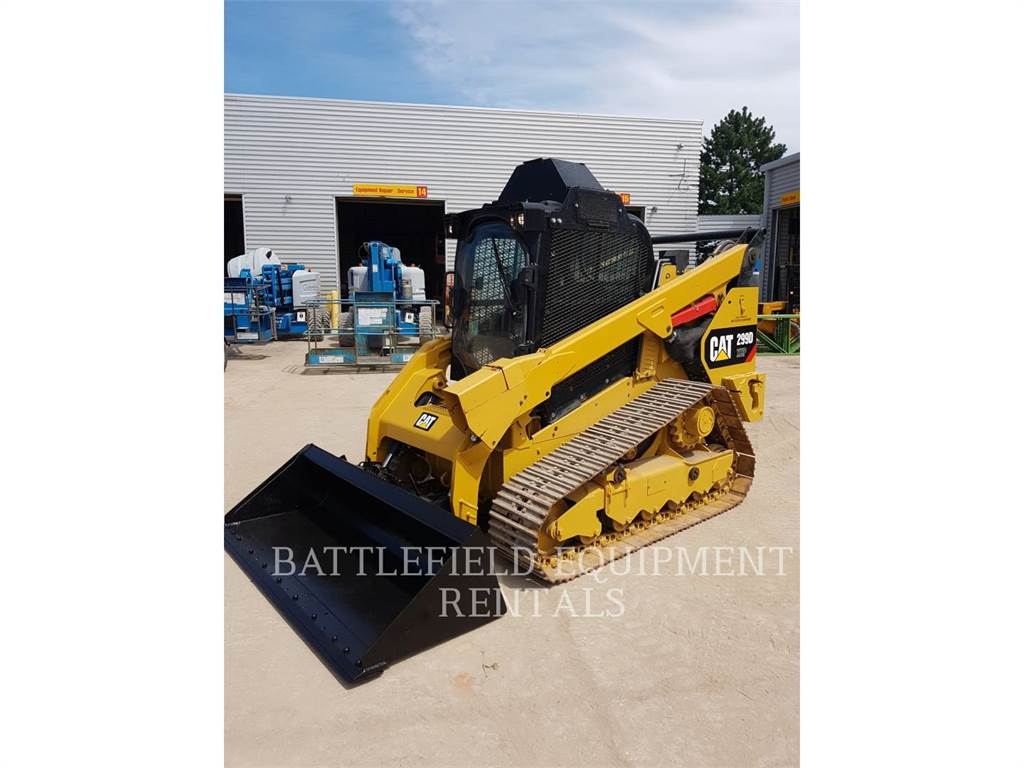 Caterpillar 299DXHP, Carregadoras de direcção deslizante, Equipamentos Construção