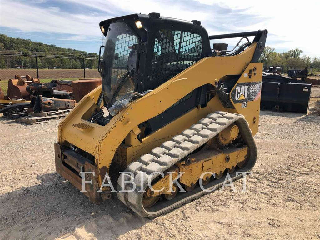 Caterpillar 299DXHP, Skid Steer Loaders, Construction
