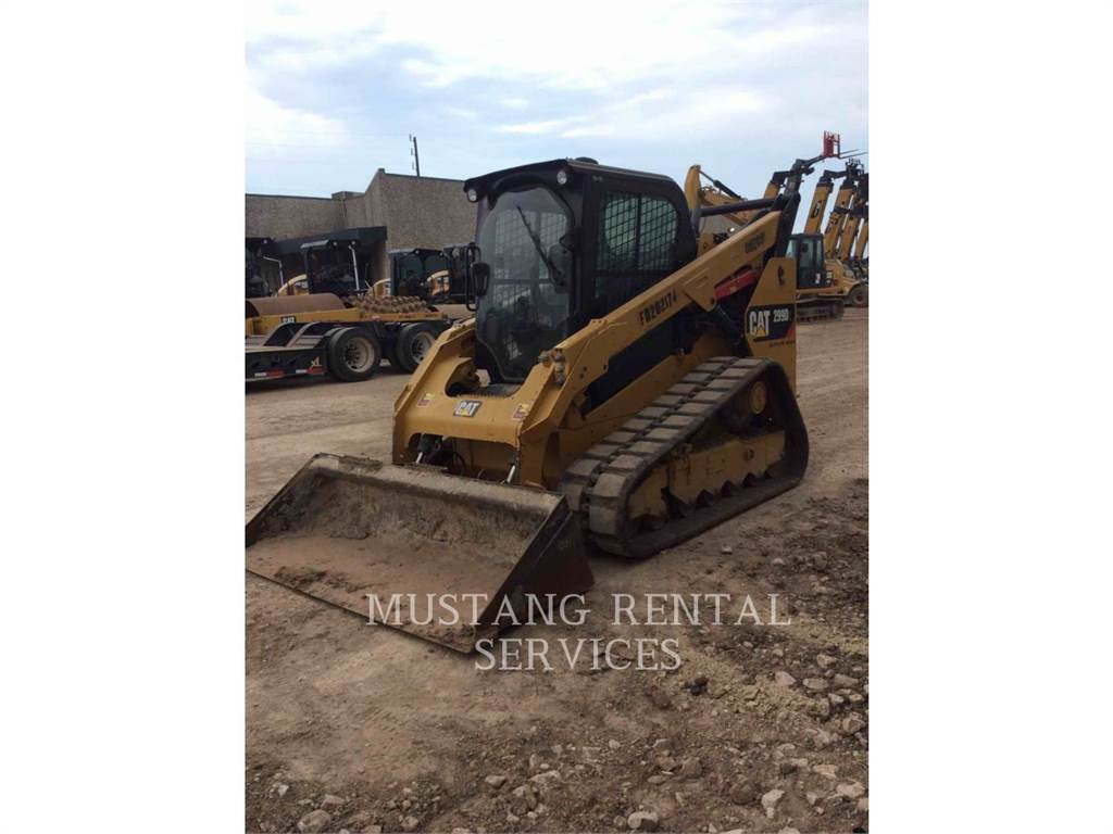 Caterpillar 299HFCA, track loaders, Construction