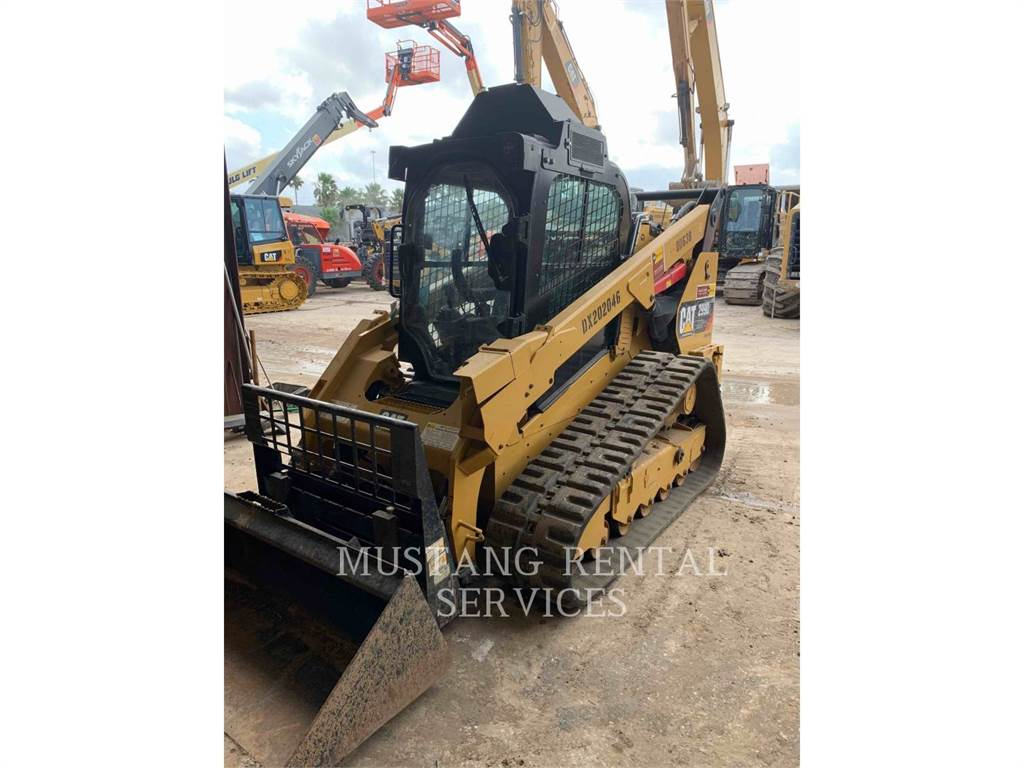 Caterpillar 299XHPCA, track loaders, Construction