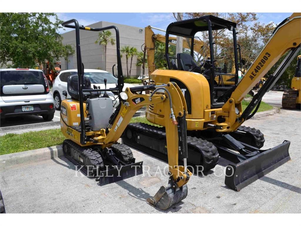 Caterpillar 300.9D, Excavatoare pe senile, Constructii