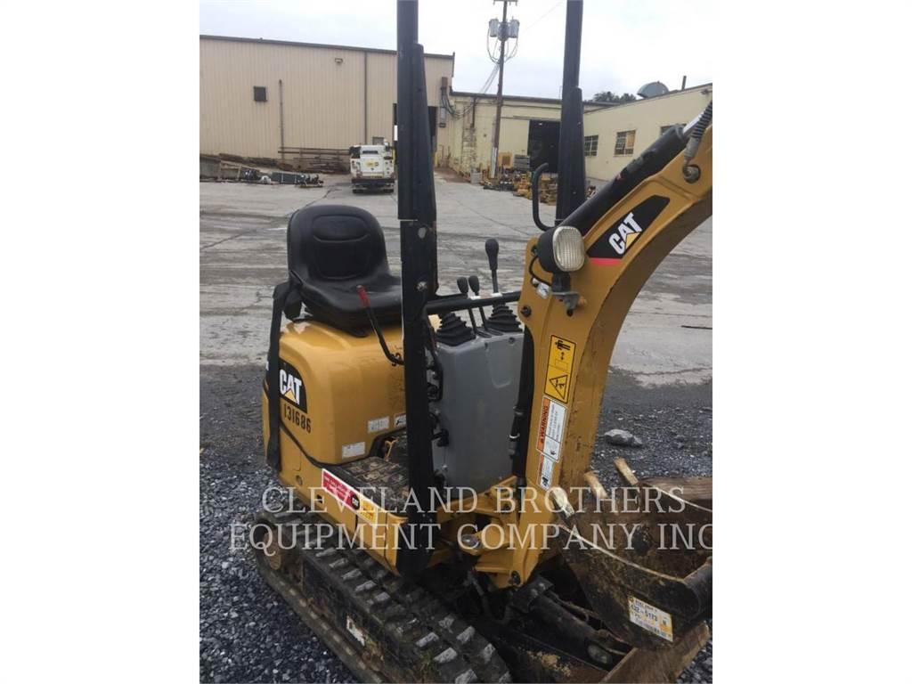 Caterpillar 300.9D, Escavadoras de rastos, Equipamentos Construção